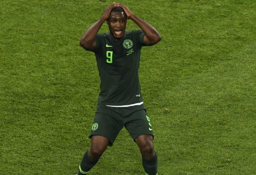 South Africa vs Nigeria: Ighalo Suffers Injury, Ruled Out Of AFCON 2019 Qualifier Clash