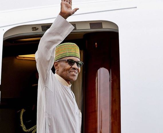 President Buhari Departs Nigeria To Attend The Paris Peace Forum In France Today