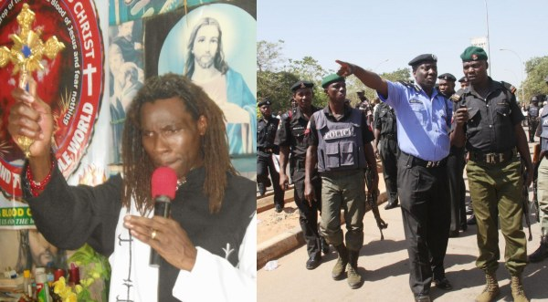 Over 100 Security Operatives Storm Lagos Church To Arrest Prophet Cletus Ilongwo