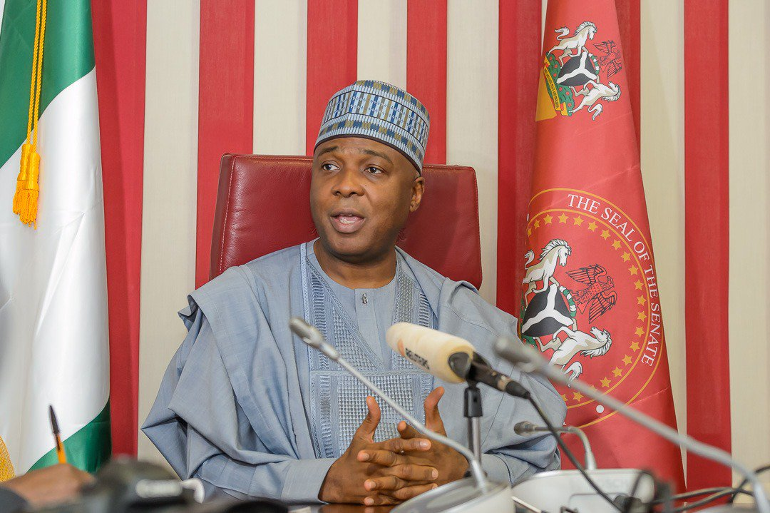 Saraki Says Allegations Of Increase In Senators' Wage Is Untrue