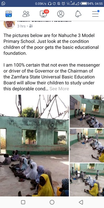 See The Sorry State Of This Primary School In Zamfara (Photos)