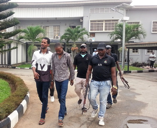 Seun Egbegbe Appears In Court Today After Spending 20 Months In Prison
