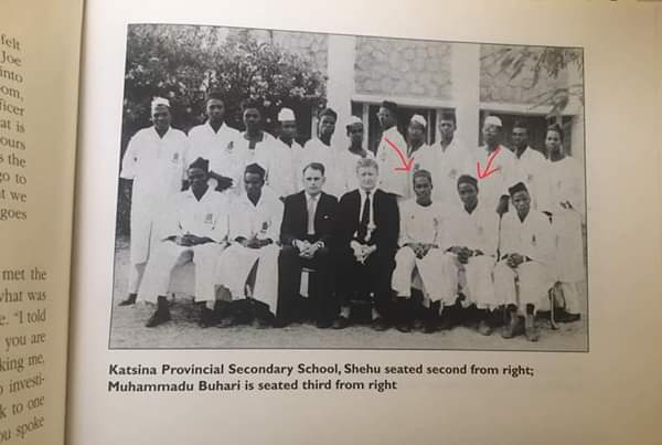 Throwback Photo Of Buhari In Secondary School With Shehu Yar'Adua In 1961 (Photo)