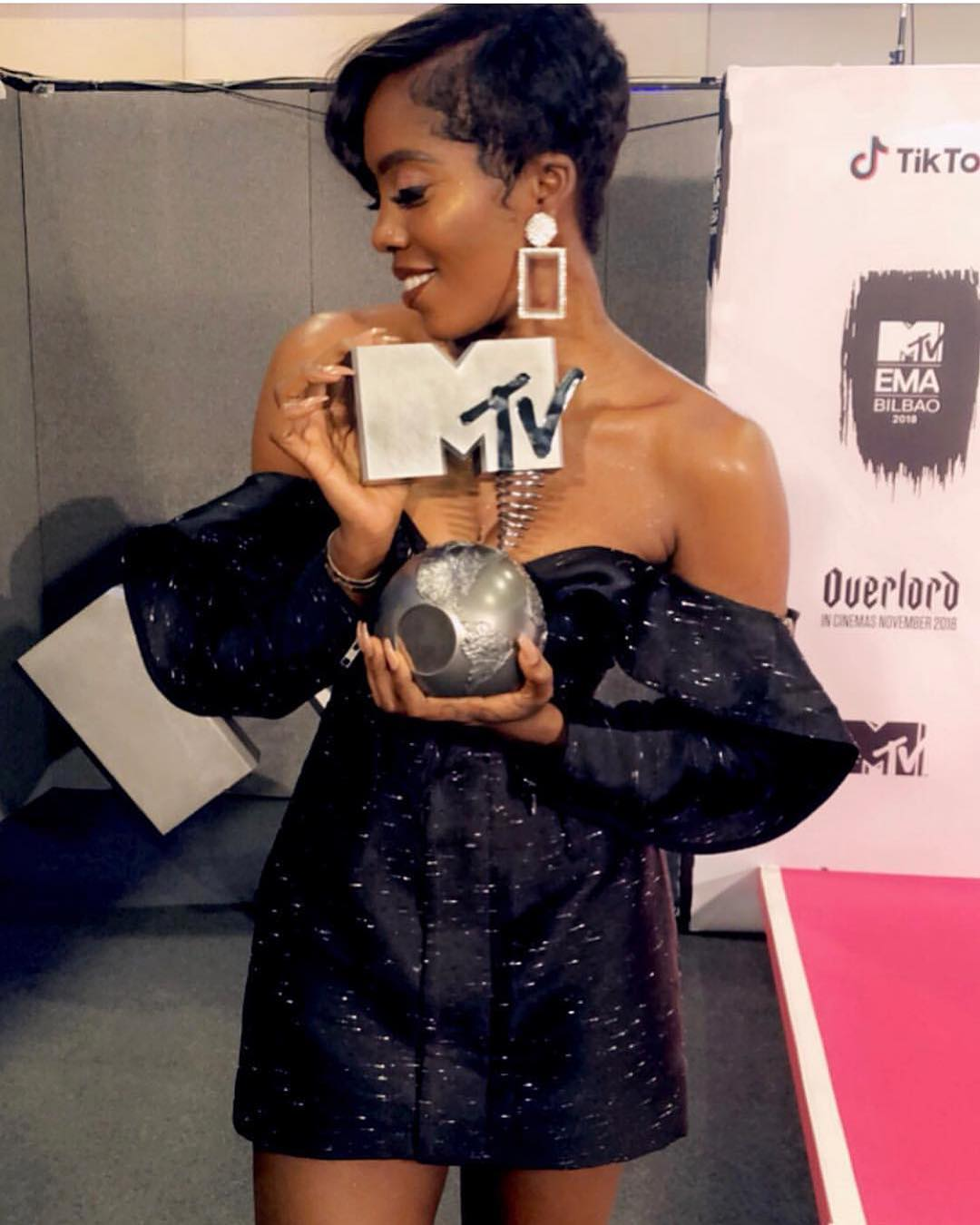 Wizkid And Don Jazzy React As Tiwa Savage Wins MTV Best African Act (Photos)