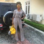 Actress Ini Edo Rocks A High Pompadour With Cornrow Sides (See Photos)