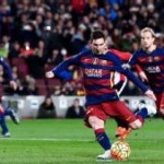 Football!! Messi has 'small' strain, Alba out 10 days
