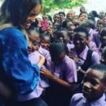Ciara visits secondary schools in Lagos (See Photos)