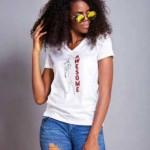 Fashion!! Kemi Awoyemi Debuts Her First Line Of Sassy T-Shirts Tagged Thresh Tees