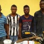 Four Suspected Armed Robbers Arrested In Ogun State (See Photo)