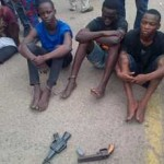 Armed Robbery Gang Called One Million Boys Caught While Trying to Rob Church During Vigil