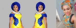 Fashion!! Mercy Aigbe Gentry: 10 Aso-Ebi Styles She Wore