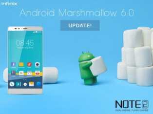 Android 6 0 Marshmallow Now Available Via OTA on Infinix