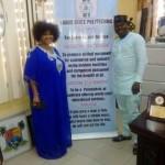 Yoruba Actress, Jaiye Kuti Announced As LASPOTECH Ambassador (See Photos)
