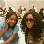 Toolz & Tiwa Savage Hangout Together In Dubai Ahead of Toolz Wedding (See Photo)