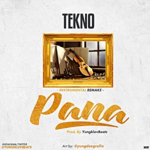 Download Instrumental:- Tekno - Pana (Remake Prod By YungKlevBeats