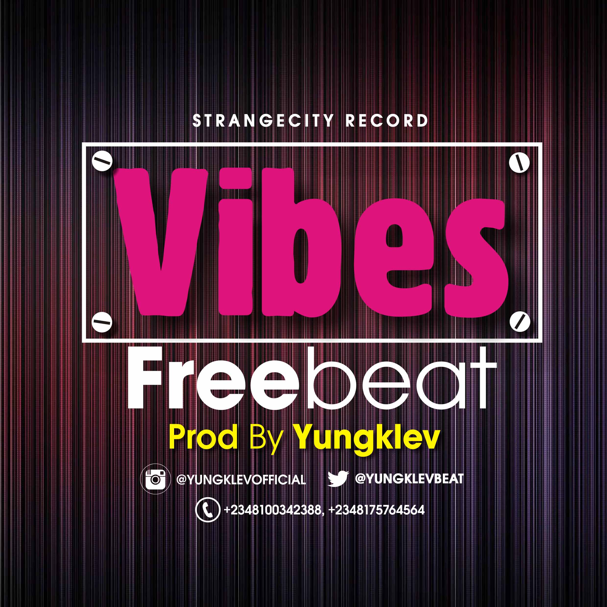 Download Freebeat:- Vibes - Prod By Yungklev - 9jaflaver