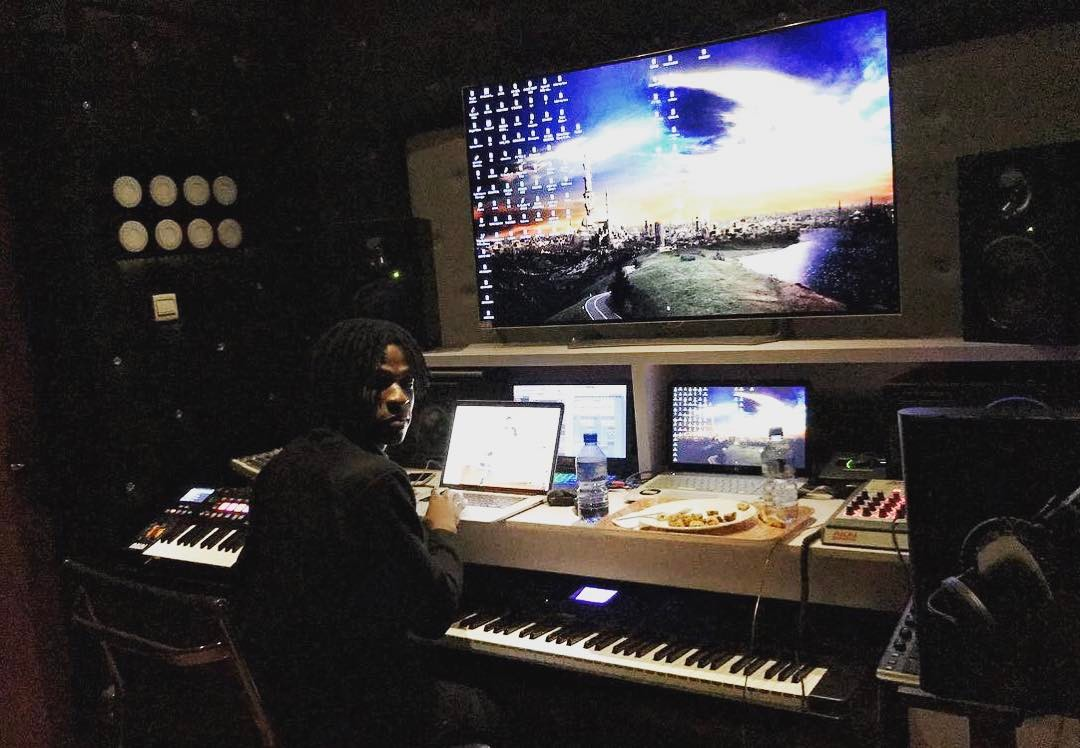 Check Out The Music Studio Of A Popular Nigeria Music