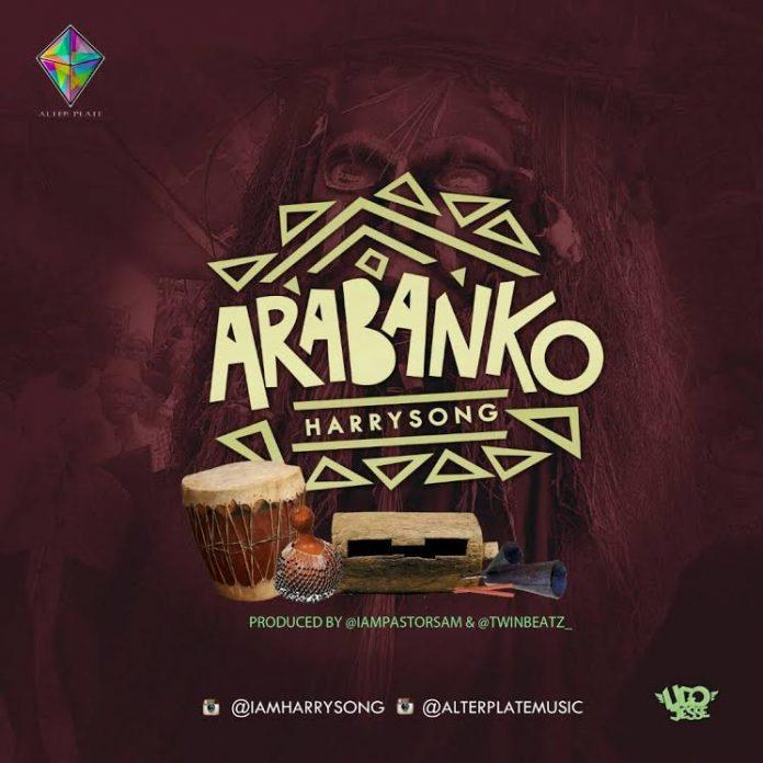 Download Music Mp3:- Harrysong - Arabanko - 9jaflaver