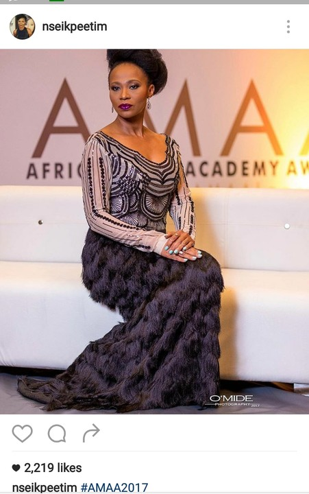 Nigerian Celebrities Storm 2017 AMAA Awards In Lagos, Check