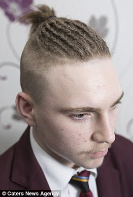 See 15-Year-Old Boy Sent Home From School For Rocking This Hairstyle ...