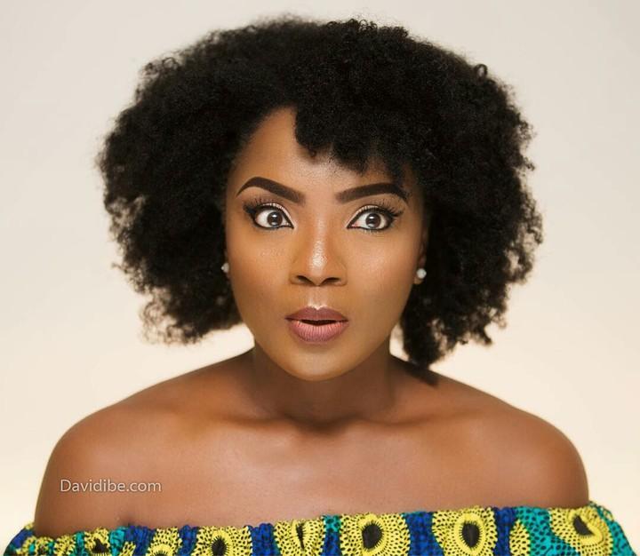 Chioma Chukwuka Akpotha Rocks Natural Hair In New Adorable