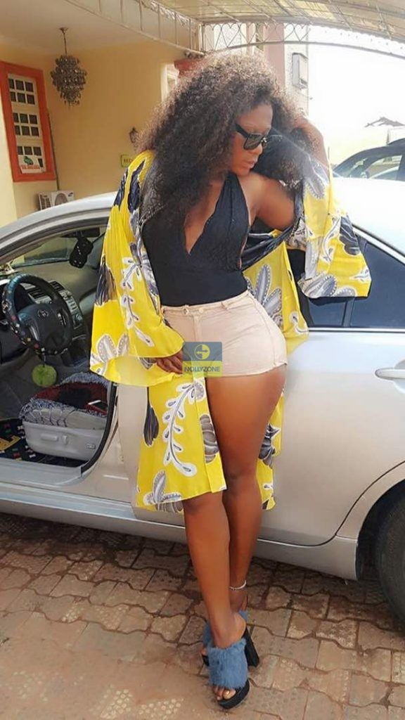 Nigerian Actress Destiny Etiko Steps Out In What Is This Called-6666