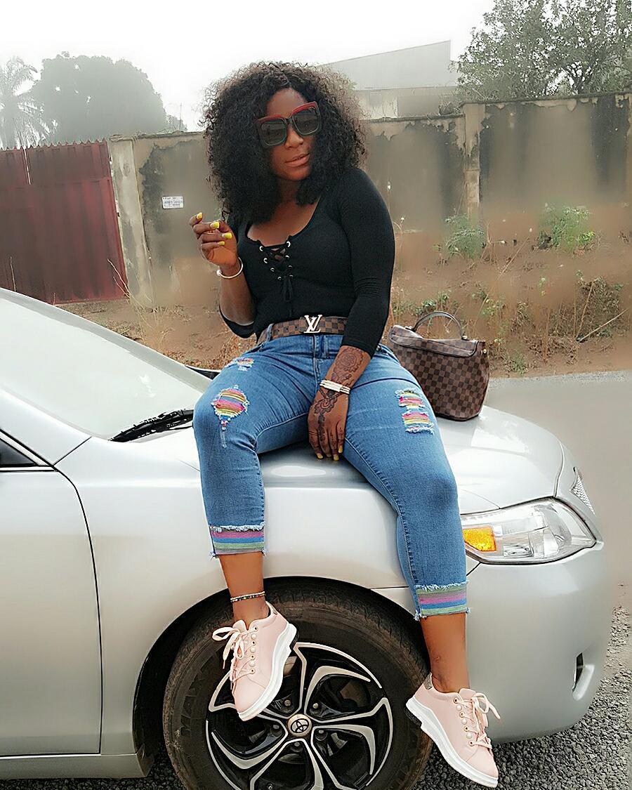 Nigerian Actress, Destinyetiko Destiny Etiko Wants The World To Admire Her Amazing -6166