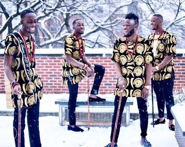 Photos Of Groomsmen In Igbo Traditional Attire - 9jaflaver