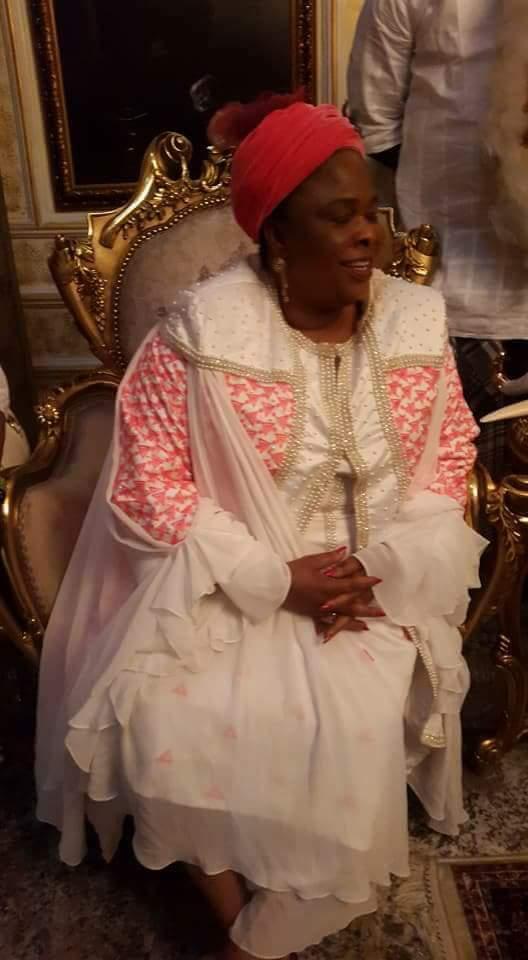 Patience Jonathan Visits Ex-Militant Turned King, Ateke