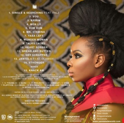 Download Music Mp3:- Yemi Alade Ft Olamide - Jantolo - 9jaflaver