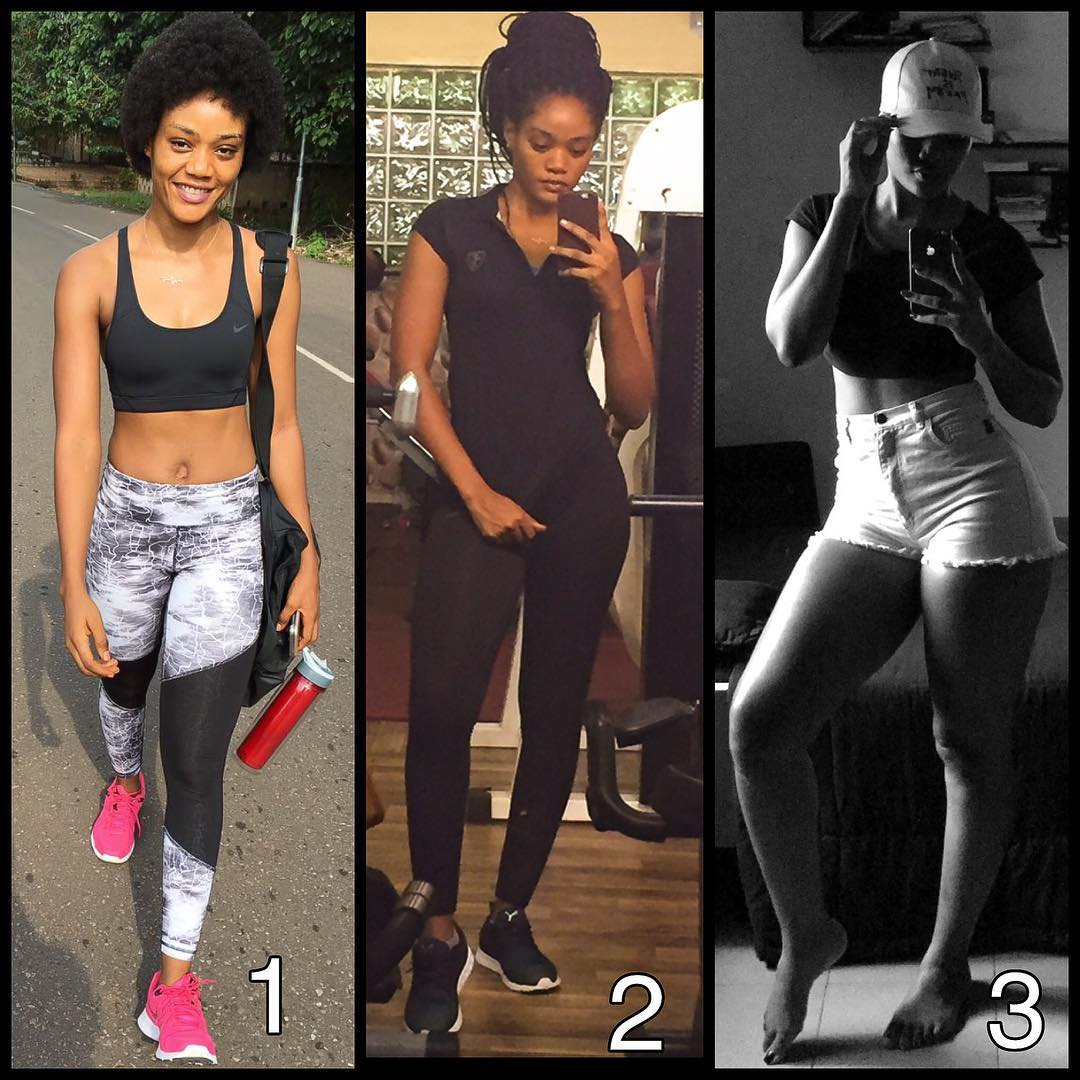 Her name is Chinenye Ulaegbu, a fitness instructor and CEO
