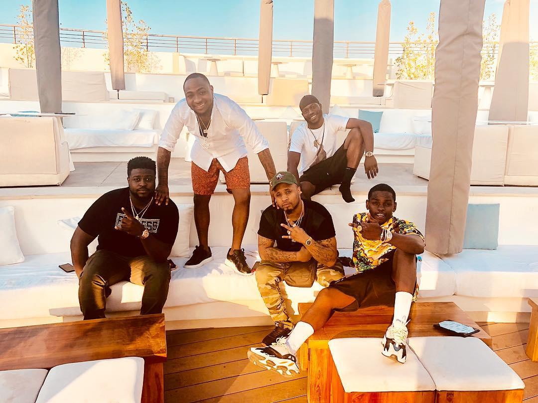 Davido Shares 2018 Vacation Photos With His Boys - 9jaflaver
