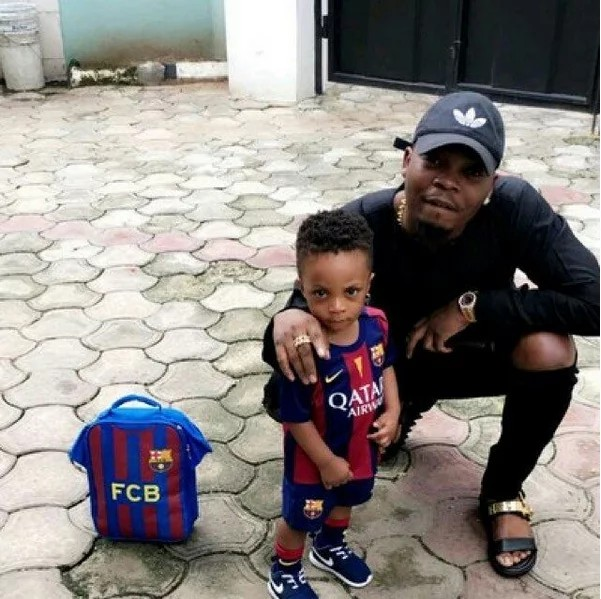 Olamide Shares Lovely Pictures Of His Wife And Son - 9jaflaver