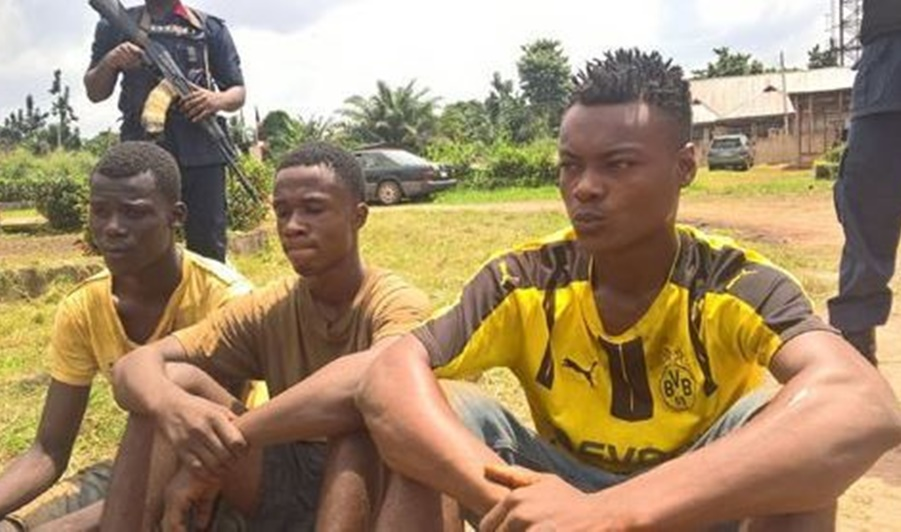 """""""I Thought She Was An Ashawo"""" – 3 Teenagers Nabbed For Having Sex With A  14-Year-Old Girl"""