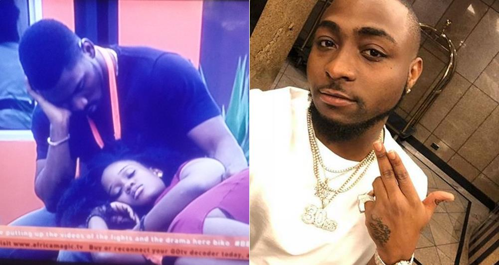 BBNaija: See Davido Viewpoints About Tobi's Infatuation With his Lover Cee-c (Photos)