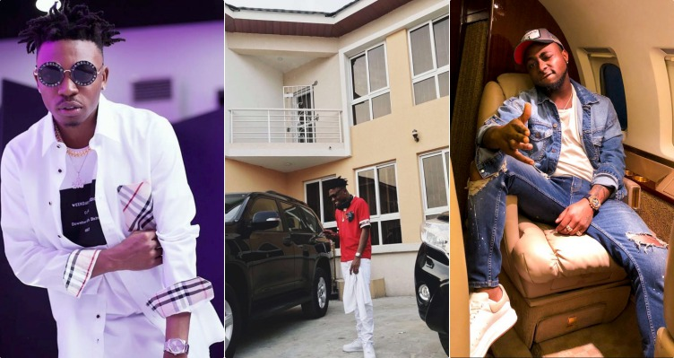 Davido Reacts As Mayorkun Acquires His First House