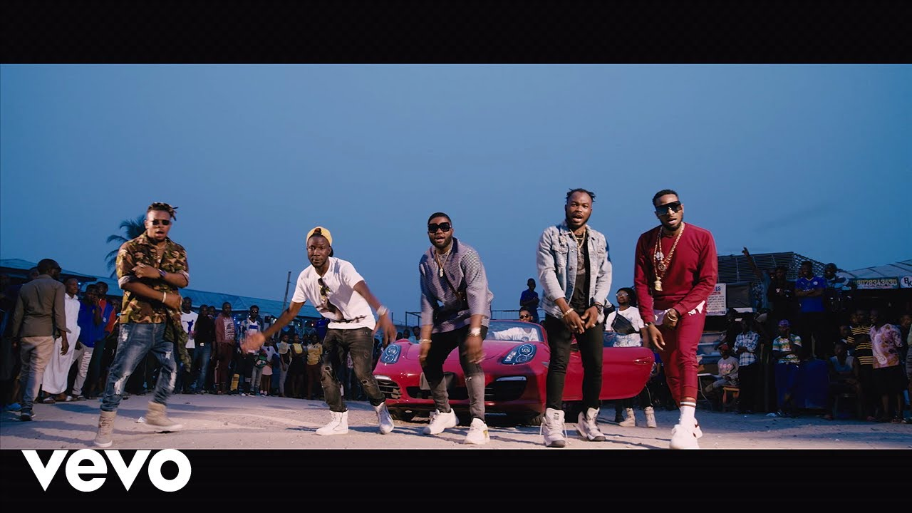 Download Video:- D'Banj Ft Slimcase And Mr Real – Issa Banger