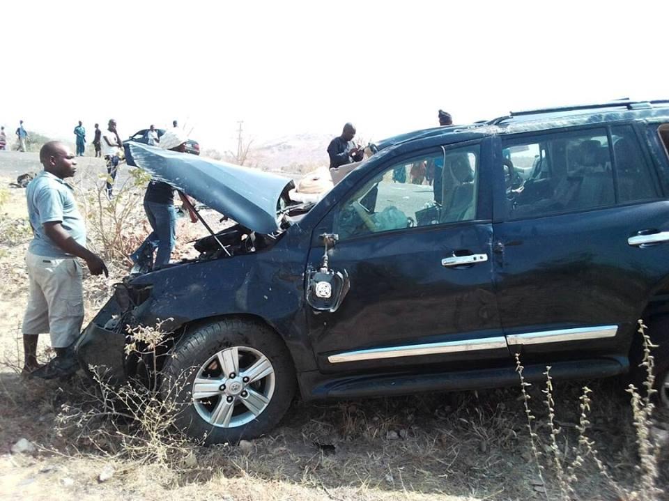 Davido Car Accident