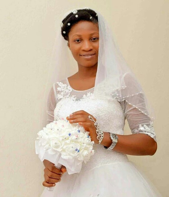 Image result for Nigerian brides with little or no  makeup