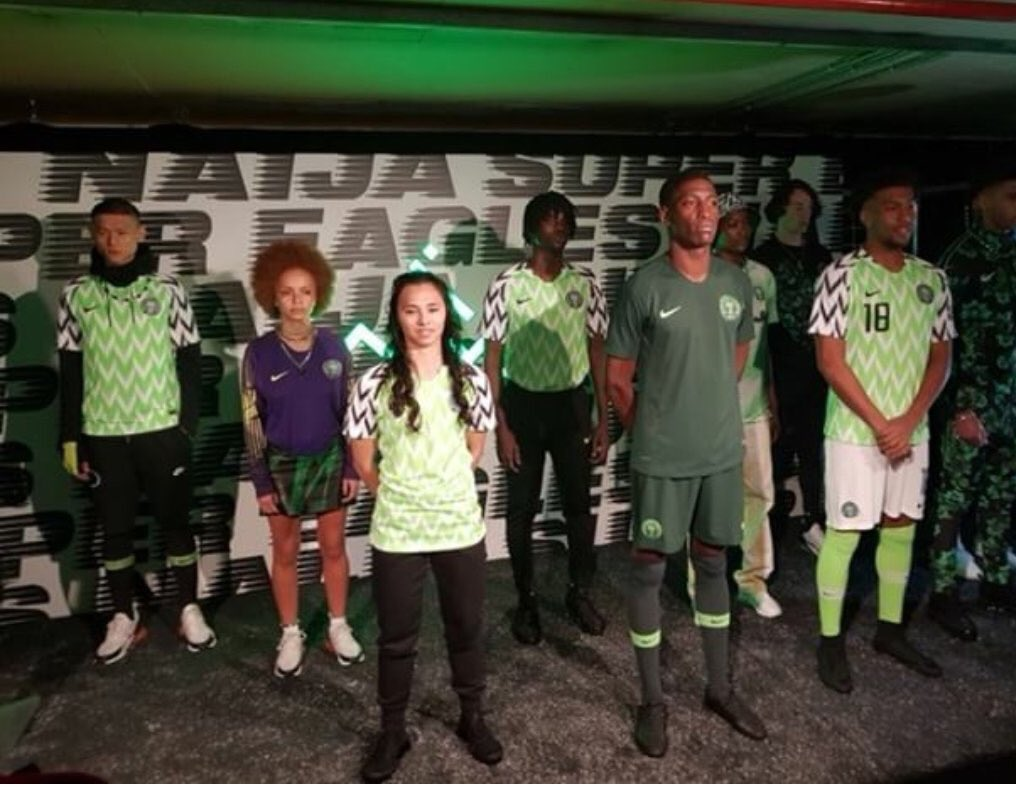 New Super Eagles's Jersey For World Cup 2018 Been divulged – Nike
