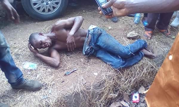 One Boy Opened A Doctor's Car With Master Key, Steals Her Laptop Get Caught in Owerri (Photos)