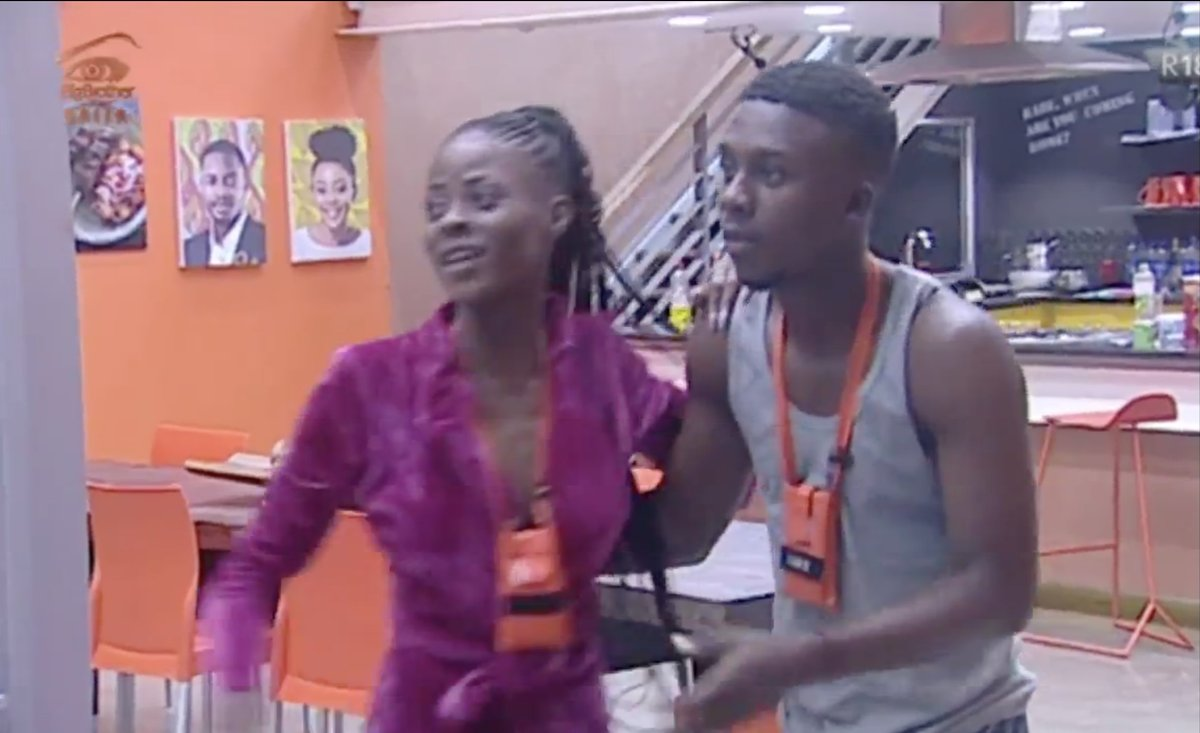 Housemates React As Anto And Khloe Return To The House 2 - BBNaija 2018:- See How Housemates Reacted When They Saw Anto And Khloe This Morning