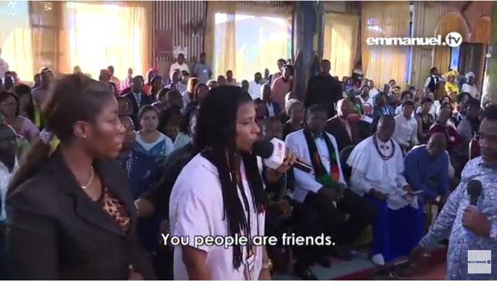 "T B  Joshua ""Delivers"" 2 Nigerian Lesbian Partners During Church"