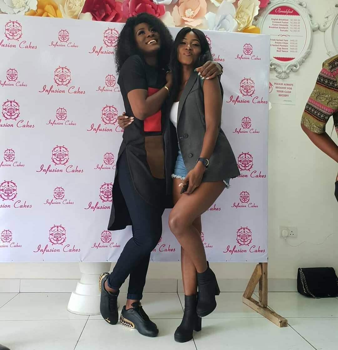 BBNaija Stars Alex And Debie Rise Strike A Cute Pose In New Photo