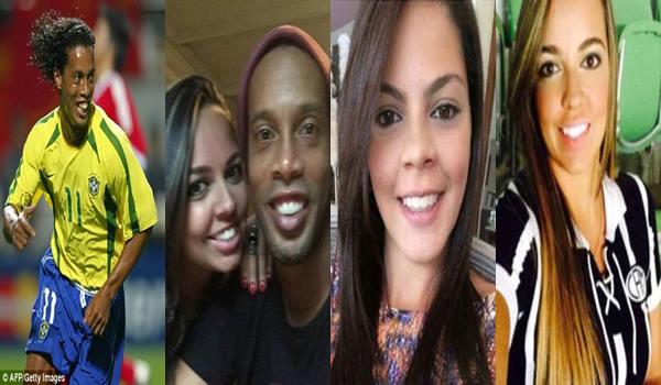 Brazilian Legend Ronaldinho' Set To Marry Two Girlfriends Living With Him In His Rio De Janeiro Mansion' (Photos)