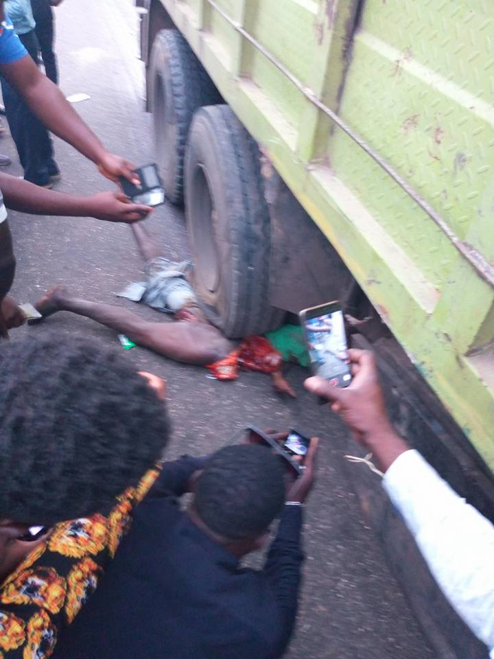Man Crushed To Death By Truck In Fatal Accident In Lagos