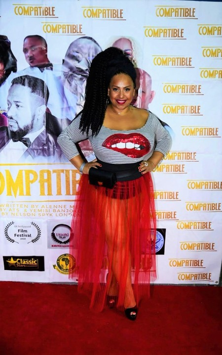Beautiful Artiste Bares Butt In See-Through Skirt To Nollywood Movie Premiere