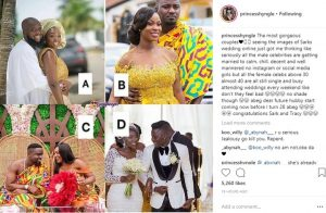 Sultry Ghanaian Actress, Princess Shyngle Shades Female Celebs Over 30 & Not Married
