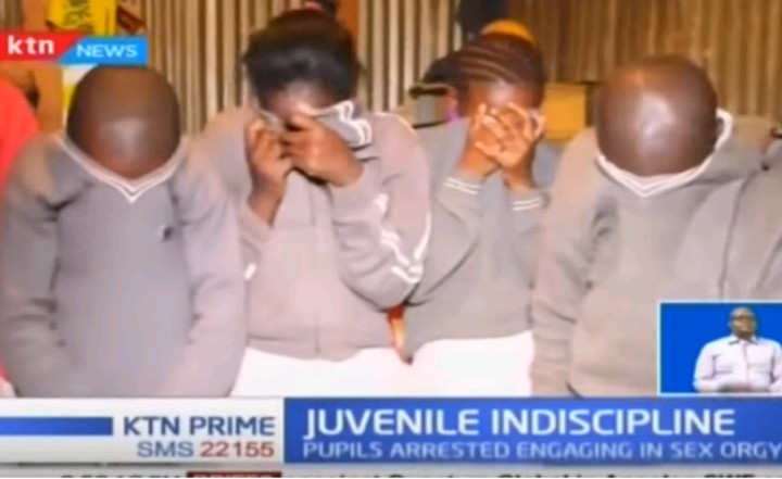 10 Kenyan Primary School Students Caught Engaging In Group Sex, Arrested (Pix, Video)
