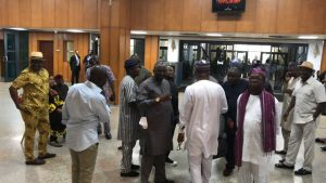 PDP Senators Now Inside NASS (See Photos)
